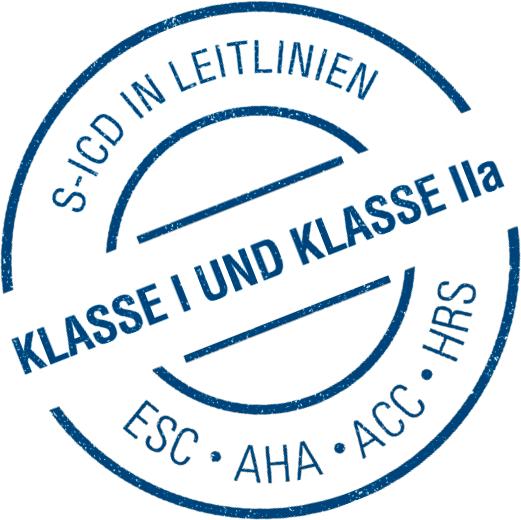 S-ICD Klasse I und Klasse IIa