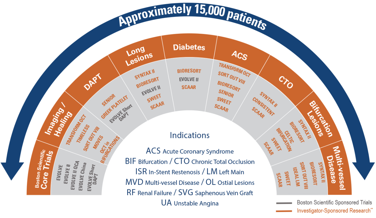 Infografik – Auf das gesamte komplexe Spektrum kardiovaskulärer Erkrankungen ausgerichtet
