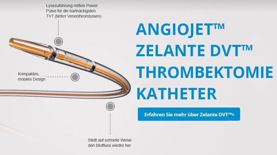 AngioJet™ ZelanteDVT™ Thrombektomiekatheter