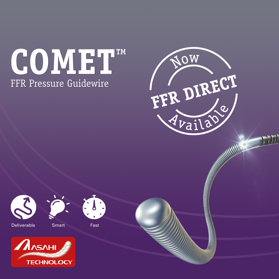 Comet Pressure Guidewire Boston Scientific