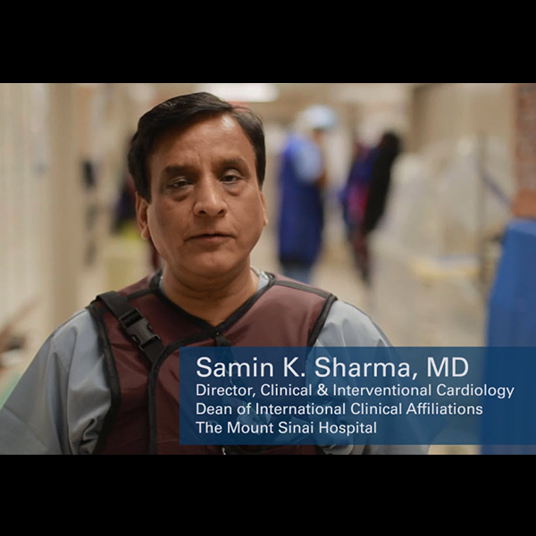 Dr. Samin Sharma on the value of Rotablator Video