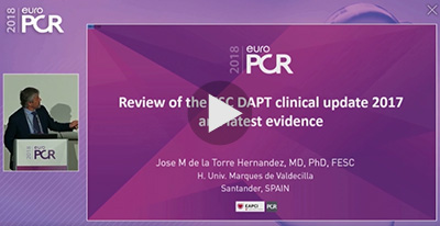 Episode 2: Review of ESC DAPT Clinical Update 2017 and Latest Evidence.