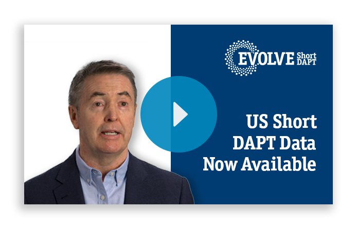 US Short DAPT Data Now Available