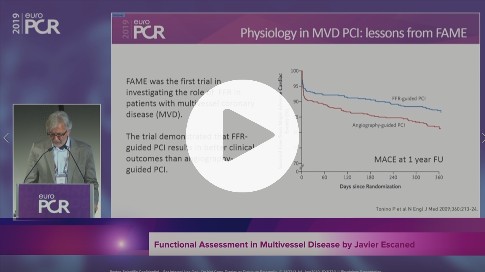 SYNTAX II Functional Assessment in Multivessel Disease by Javier Escaned, VIdeo