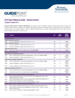 Outpatient Quick Reference Guide