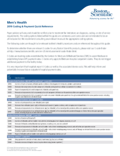 Reimbursement-Pelvic Health - Boston Scientific
