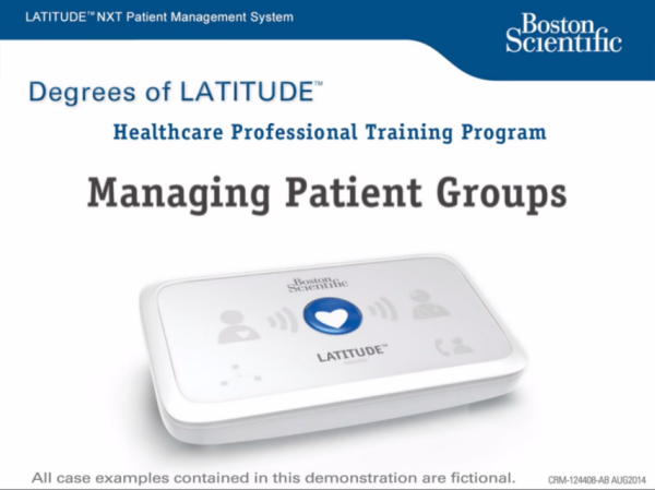 Managing Patient Groups