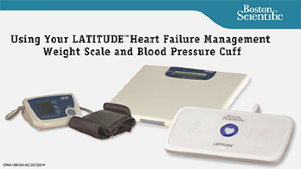 Using Your Scale and Blood Pressure Cuff