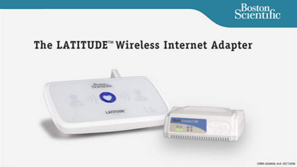 The LATITUDE Wireless Internet Adapter