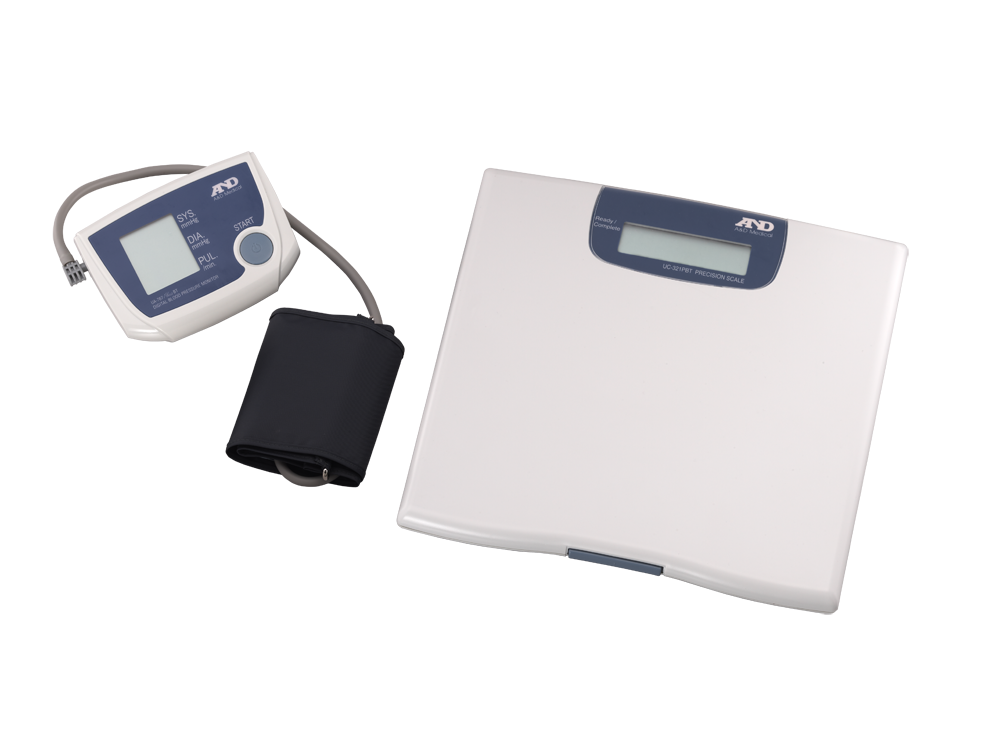 LATITUDE NXT Optional Wireless Weight Scale and Blood Pressure Monitor