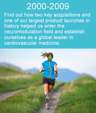 Find out how two key acquisitions and one of our largest product launches in history helped us enter the neuromodulation field and establish ourselves as a global leader in cardiovascular medicine.