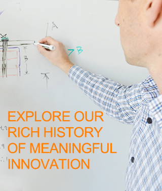 Explore Our Rich History of Meaningful Innovation