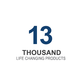 13 Thousand life changing products