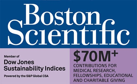 Boston Scientific contribute $70M+ for medical research, fellowships, educational and charitable giving