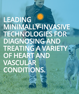 Leading minimally-invasive technologies for diagnosing and treating a variety of heart and vascular conditions.