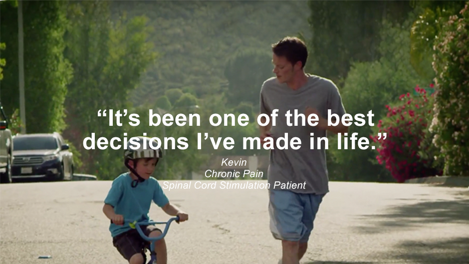 Video of Kevin, Spinal Cord Stimulation Patient, Talking about his experience with SCS