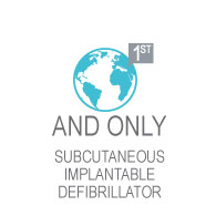 1st and only subcutaneous implantable defibrillator
