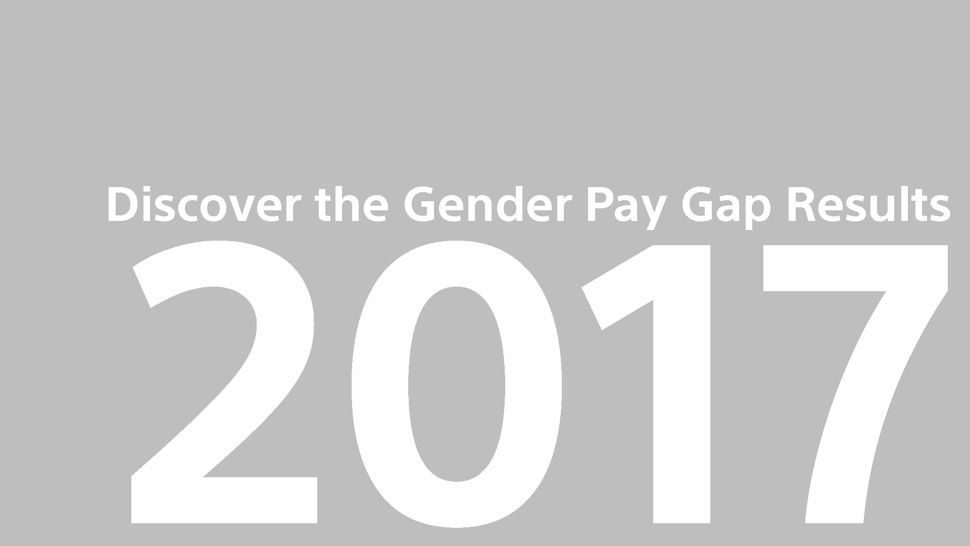 Gender Pay Gap Report UK 2017