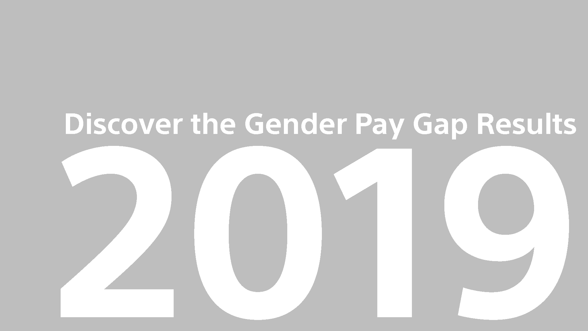 Gender Pay Gap Report UK 2019