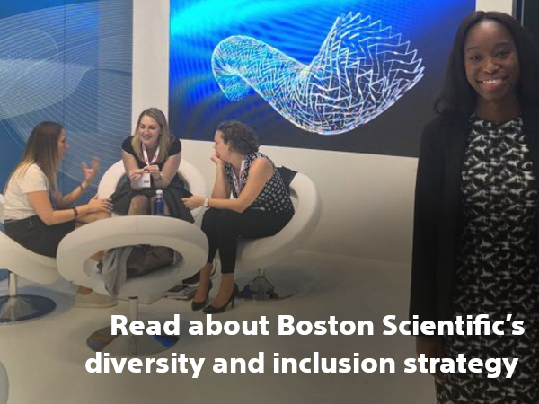 Read about Boston Scientific's diversity and inclusion strategy