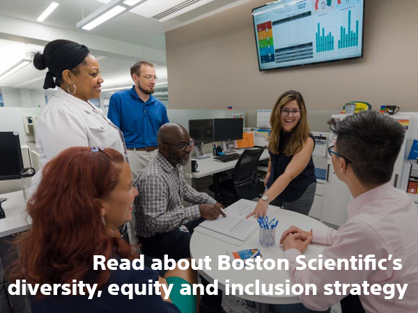 Read about Boston Scientific's diversity, equity and inclusion strategy