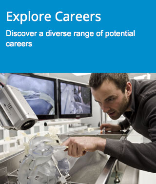 Explore careers - Discover a diverse range of potential careers