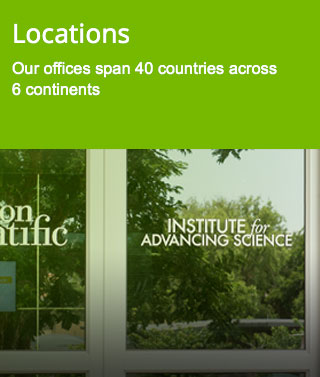 Locations - Our offices span 40 countries across 6 continents