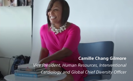 Camille Chang Gilmore, Vice President, Human Resources, Interventional Cardiology and Global Chief Diversity Officer