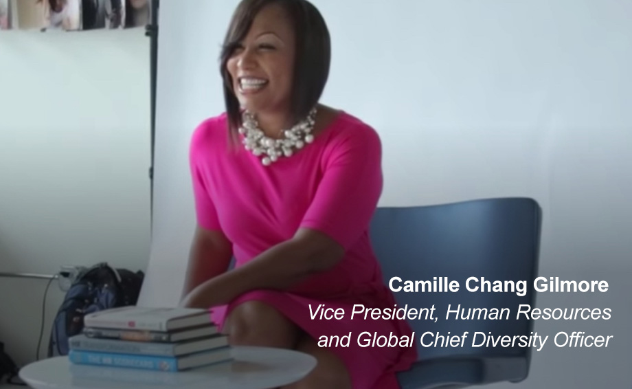 Camille Chang Gilmore, Vice President, Human Resources and Global Chief Diversity Officer