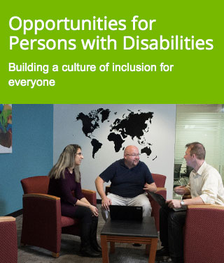Opportunities for Persons with Disabilities - Building a culture of inclusion for everyone