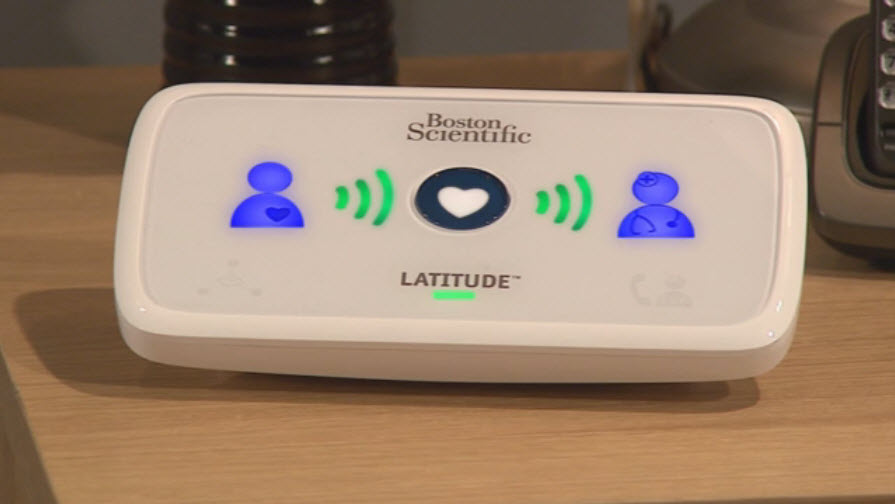 LATITUDE™ Home Monitoring System - video titled Understanding the Lights on Your Communicator