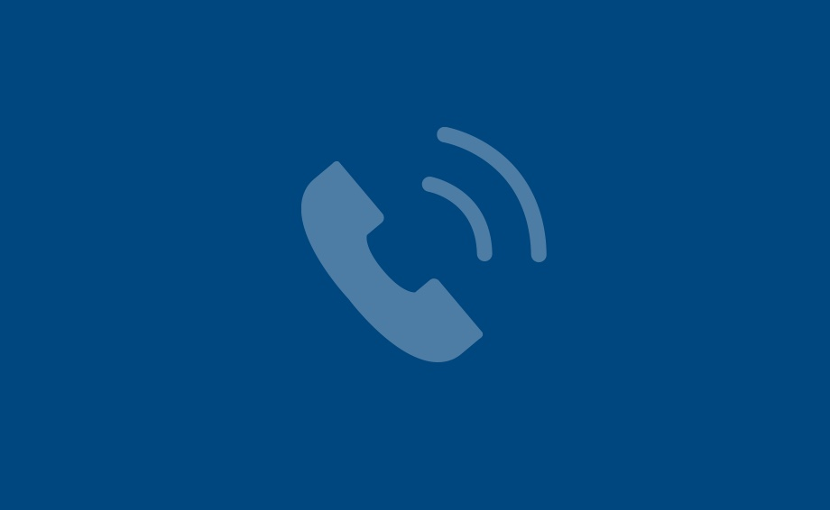 Image of Telephone Icon - for Patient Care and Support