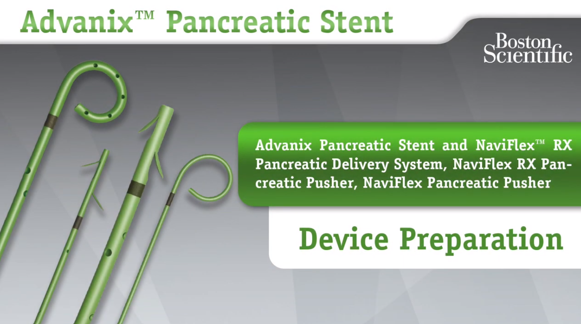 This video tutorial provides step-by-step instructions for placing and deploying the Advanix Pancreatic Stent. For RX Users Only.