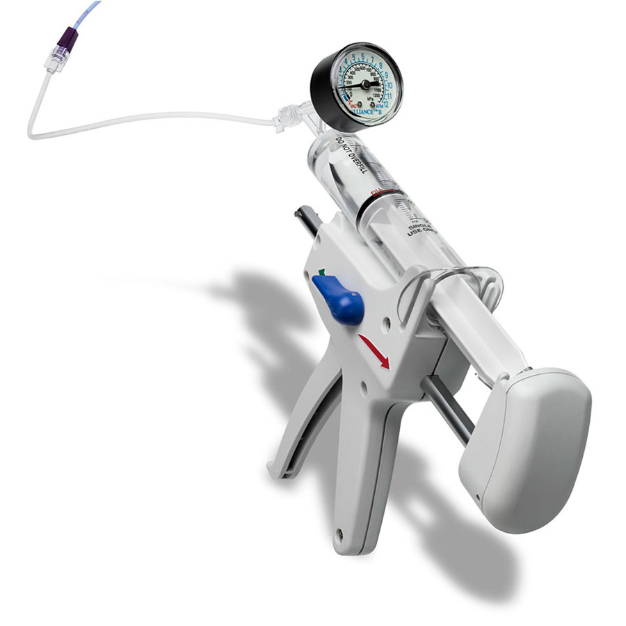 Use with the Alliance II Integrated Inflation/Lithotripsy Device.