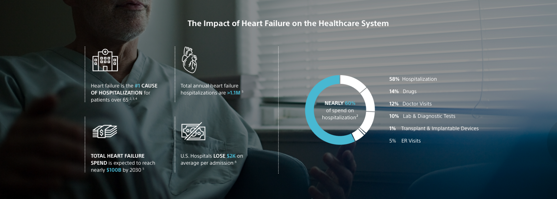 The Impact of Heart Failure on the Healthcare System
