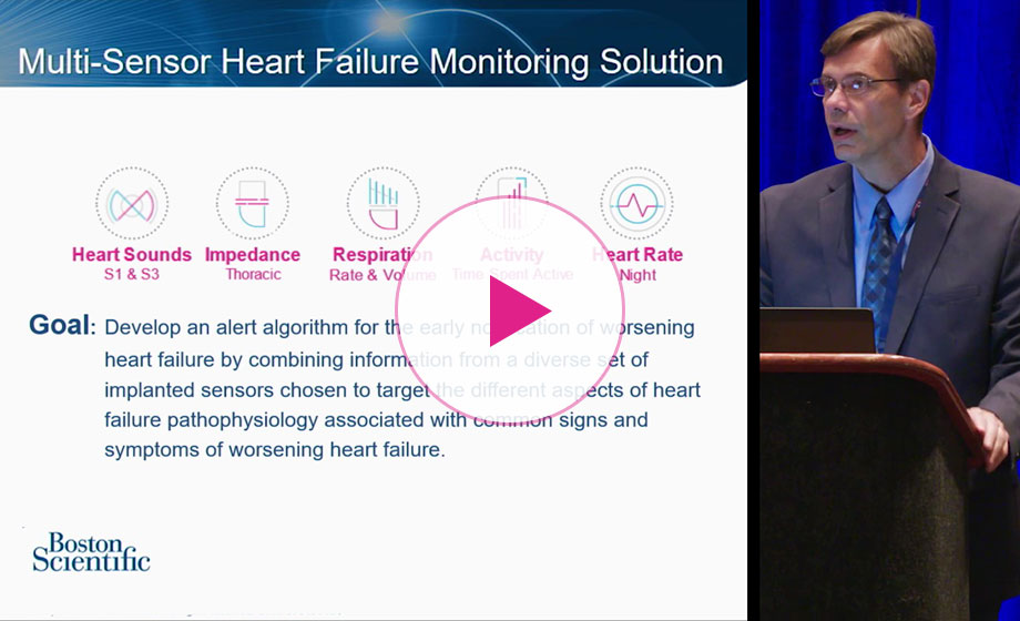Watch selected excerpts from Boston Scientific's Contemporary Forum at HFSA 2019.