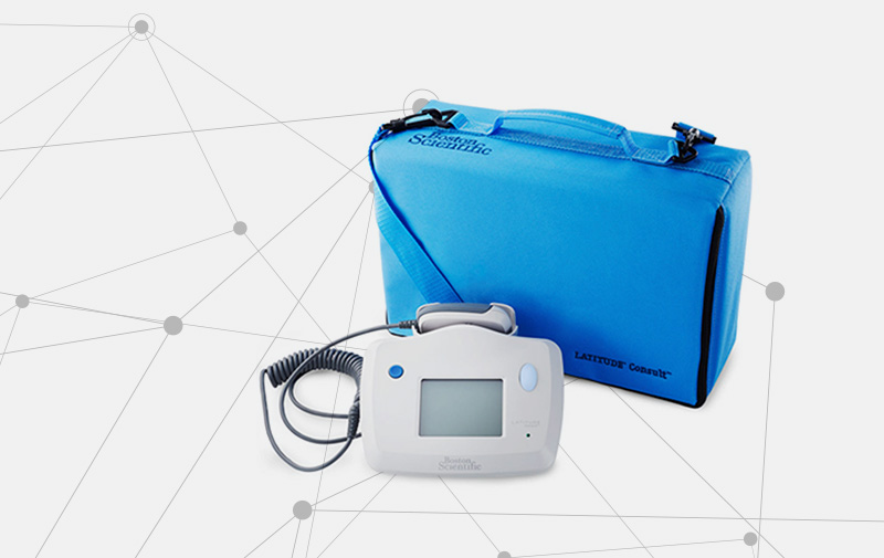 LATITUDE Consult System and Carrying Case