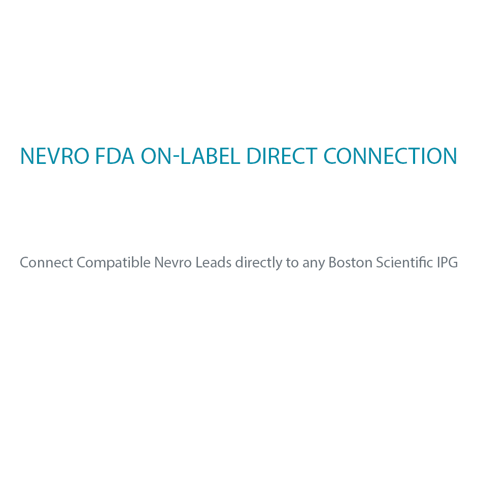 NEVRO FDA On-Label Direct Connection