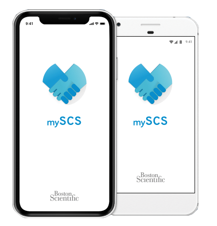 mySCS overview screen