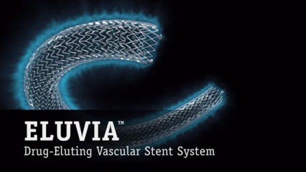 Eluvia Drug-Eluting Stent Sustained Drug Release
