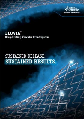 Eluvia Drug Eluting Stent System Brochure (September 9, 2016)
