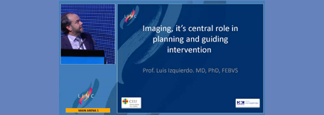 Imaging, its central role in planning and guiding intervention