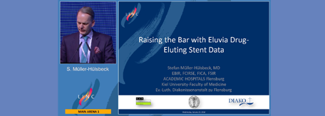 Raising the bar with Eluvia Drug Eluting Stent data