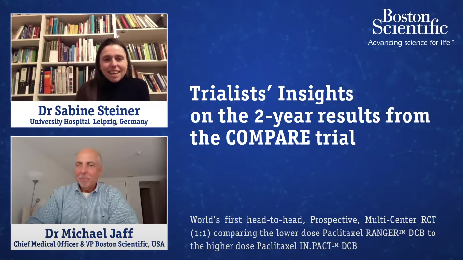 Trialists' Insights on the 2-year results from the COMPARE trial
