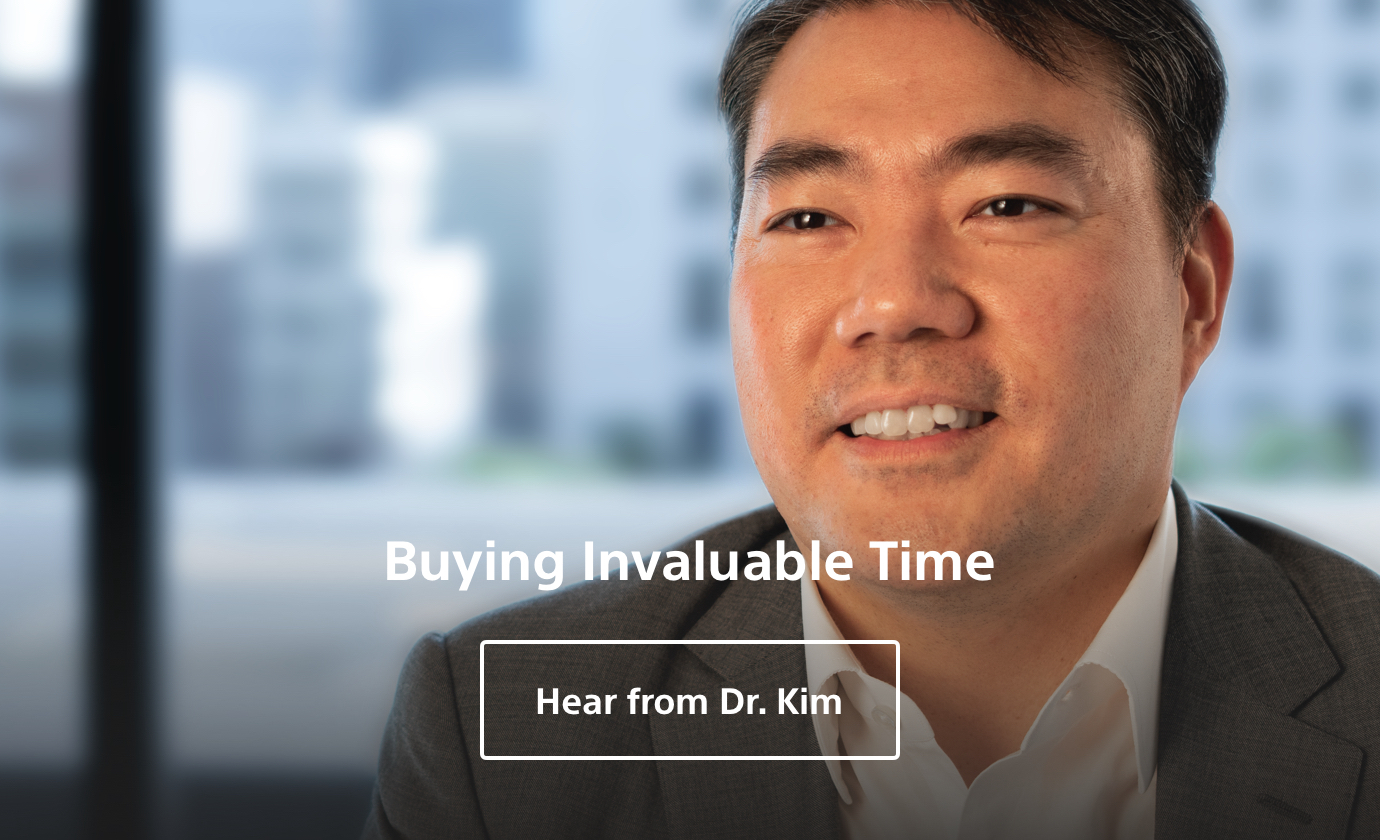 Dr Kim-Buying Invaluable Time.