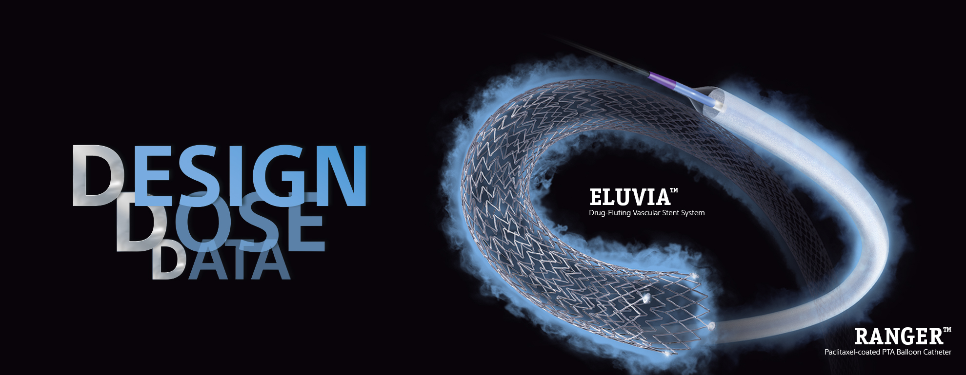 Eluvia™ and Ranger™ are 3D:  3 times Different from other devices.
