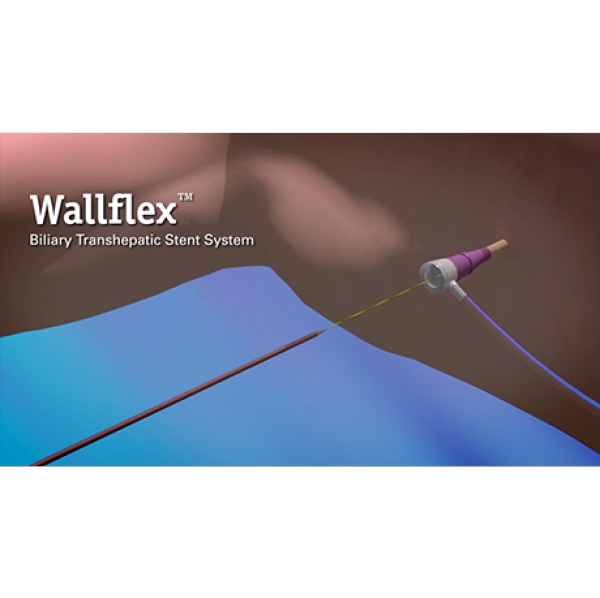 Wallflex Transhepatic Biliary Stent System Animation