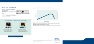 RadioFrequency Ablation brochure