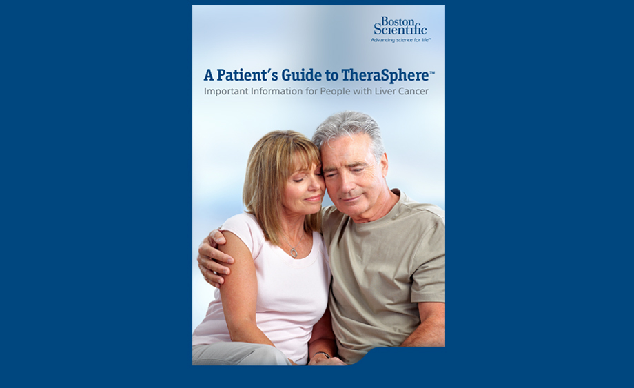 image of TheraSphere Patient Guide