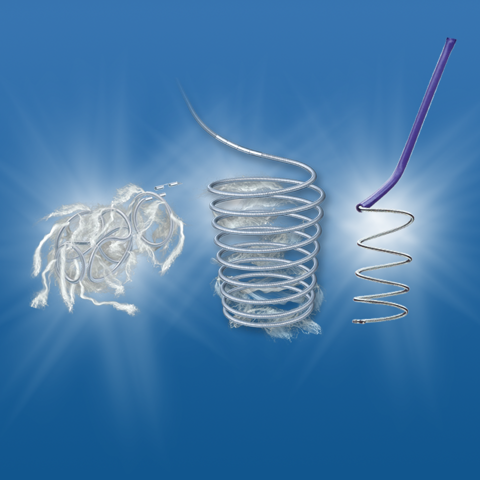 Learn more about Boston Scientific's portfolio of detachable embolization coils